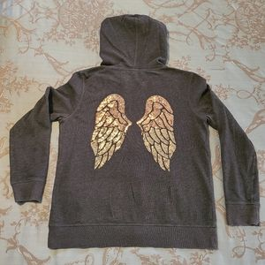 Victoria's Secret Sequin Angel Wings Hoodie